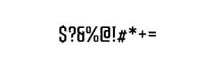Redsniper.otf Font OTHER CHARS