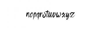 Retvaley.otf Font LOWERCASE