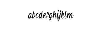 Retvaley.ttf Font LOWERCASE