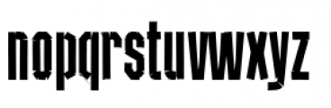 Red Tape Condensed Font LOWERCASE