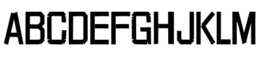 Red Tape Plain Font UPPERCASE