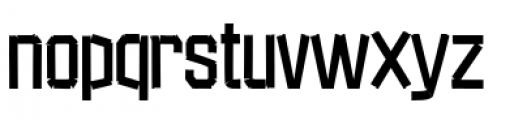 Red Tape Plain Font LOWERCASE