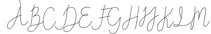 Reading Signatue Font 2 Font UPPERCASE