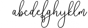 Reading Signatue Font Font LOWERCASE