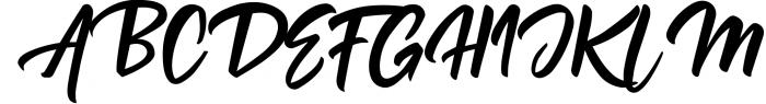 Rendang - Handmade Font Font UPPERCASE