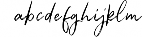 Renegade - Hand Painted Signature - Font Font LOWERCASE