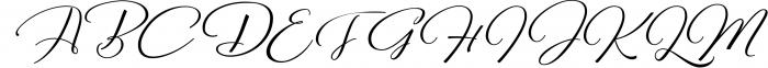 Reshuffle Script 1 Font UPPERCASE