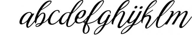 Reshuffle Script 1 Font LOWERCASE