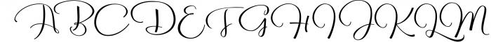 Reshuffle Script 3 Font UPPERCASE