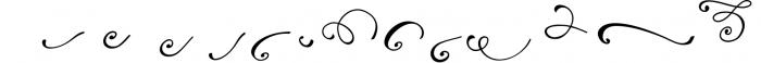 Reshuffle Script 4 Font LOWERCASE