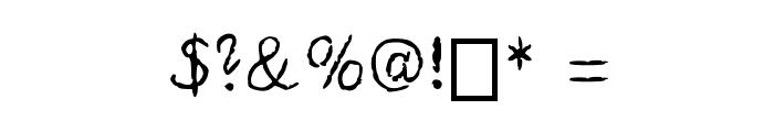 REAPER Medium Font OTHER CHARS