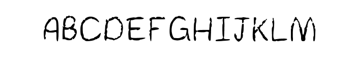 REAPER Medium Font UPPERCASE
