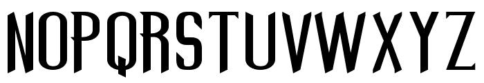 REFORMA Font UPPERCASE