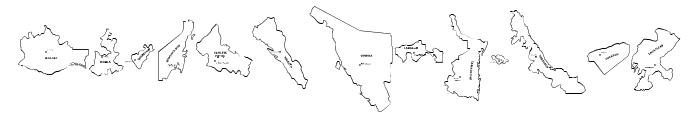 REPUBLICA MEXICANA Font UPPERCASE