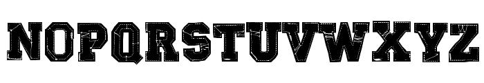 RETROHAND Font LOWERCASE
