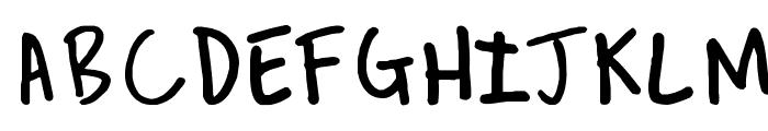 REVEREND JOSH Font UPPERCASE