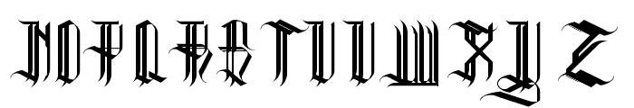REVERENT REG Font UPPERCASE