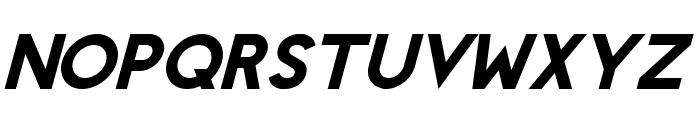 REVOLUTION Italic Font UPPERCASE