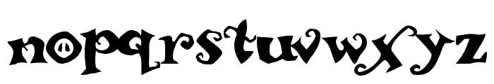 ReBucked Font LOWERCASE