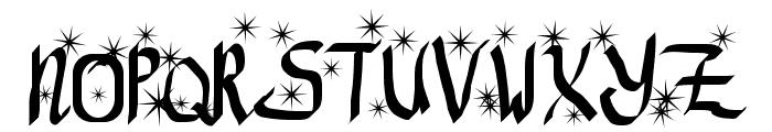 ReGifter Stars Font UPPERCASE
