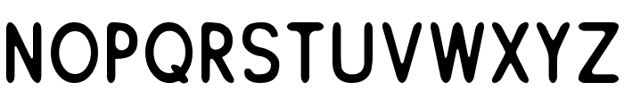 ReSiple Rounded Font UPPERCASE
