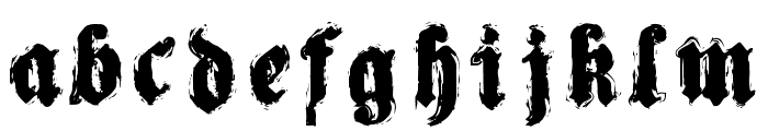 Reaching for Heaven Font LOWERCASE