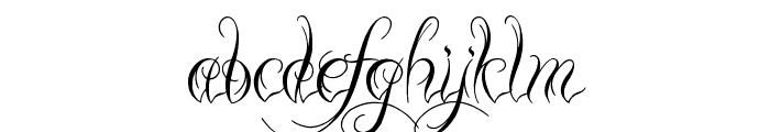 Ready Black Font LOWERCASE