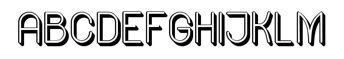 Ready Regular Font UPPERCASE