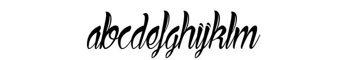 Ready to Ride Font LOWERCASE