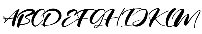 Real Miami Font UPPERCASE