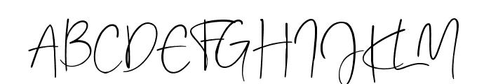 RealKindly-Bold Font UPPERCASE