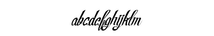 RealPrizesVeryItalic Font LOWERCASE
