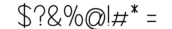 Realize My Passion Font OTHER CHARS