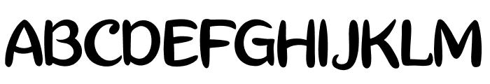 Really Petshop Font UPPERCASE