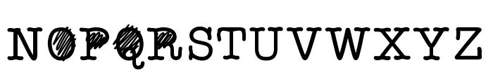 ReallyQuickStaffMeeting Font UPPERCASE