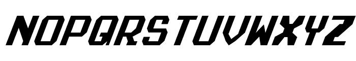 Realpolitik Condensed Italic Font UPPERCASE