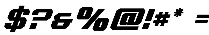 Realpolitik Semi-Bold Italic Font OTHER CHARS