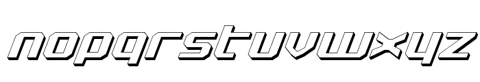 Realpolitik Shadow Italic Font LOWERCASE