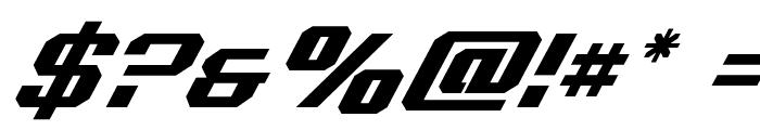 Realpolitik Super-Italic Font OTHER CHARS