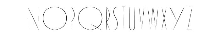 Reason Font UPPERCASE