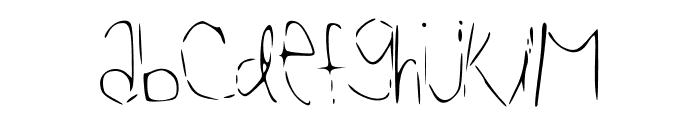 Reasoning Font UPPERCASE