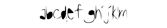 Reasoning Font LOWERCASE