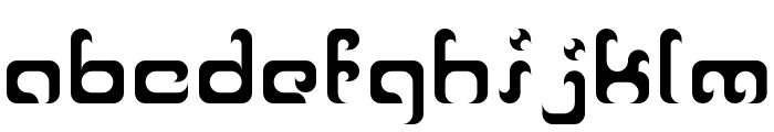 Reaver Font LOWERCASE