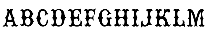Rebel Bones Font UPPERCASE