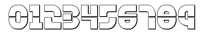 Rebel Command 3D Regular Font OTHER CHARS