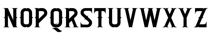 Rebel Font UPPERCASE