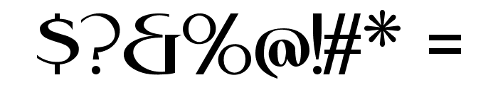 RebelRedux Font OTHER CHARS