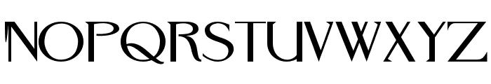 RebelRedux Font UPPERCASE
