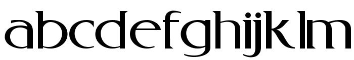 RebelRedux Font LOWERCASE