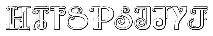 Rebimboca Beveled Font OTHER CHARS